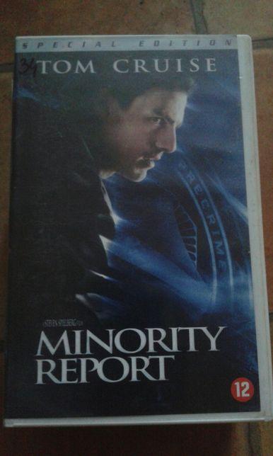 Minority Report film VHS