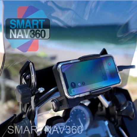 SmartNav360 - Suporte de telemóvel para motos BMW