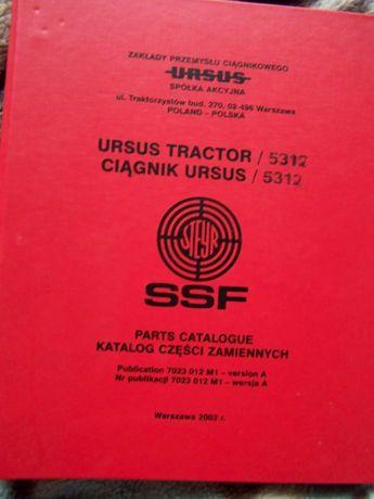 Katalog Ursus 5312 Steyr SSF oryginał nowy PL
