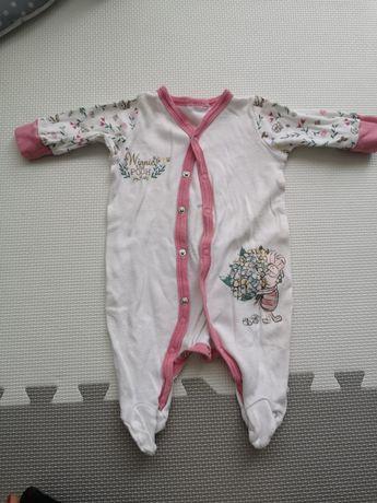 Pajacyk niemowlęcy, piżamka 56