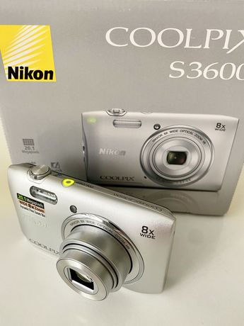 Цифровая фотокамера Nikon Coolpix S3600