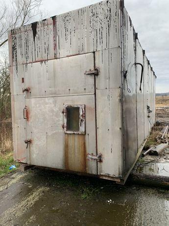 Suszarnia kontenerowa do drewna Hajnówka kontener 9m zamiana