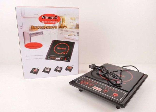 Новая индукционная плита Wimpex 1321 / 2000Вт плитка электроплита печь