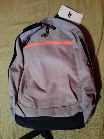 Nowy plecak firmy 4f
