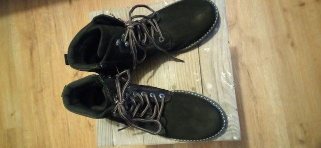 Buty skórzane chłopięce r.38 Lasocki jak nowe
