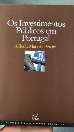 Livro - Investimentos Públicos em Portugal