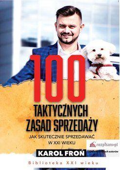 Książka 100 taktycznych zasad sprzedaży - Karol Froń, sprzedaż