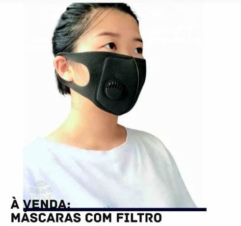 Máscara de protecção reutilizável