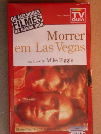 Filme VHS, Morrer em Las Vegas, virgem, a estrear