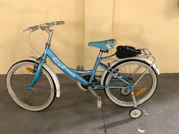 """bicicleta de criança team adventure 20"""""""
