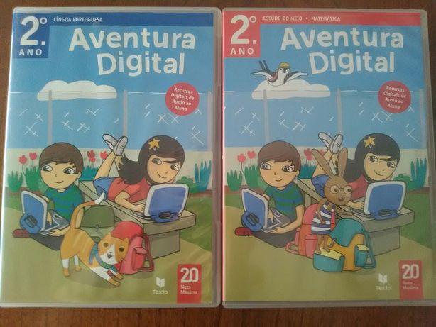 "CD-ROM ""Aventura Digital"" 2° ano"