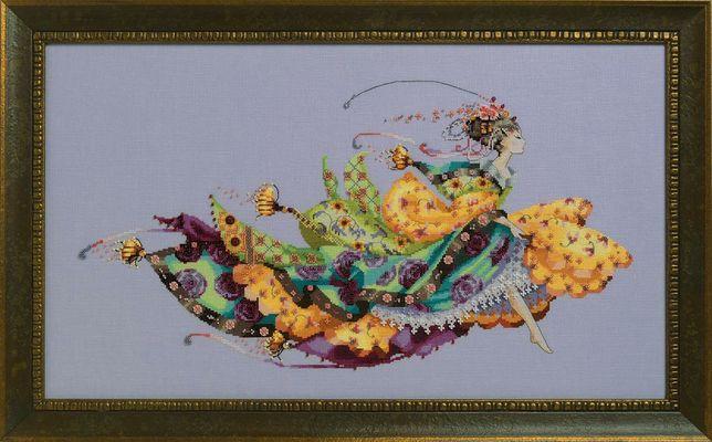 Вишита картина Princess Elliana і Holiday Queen - Mirabilia