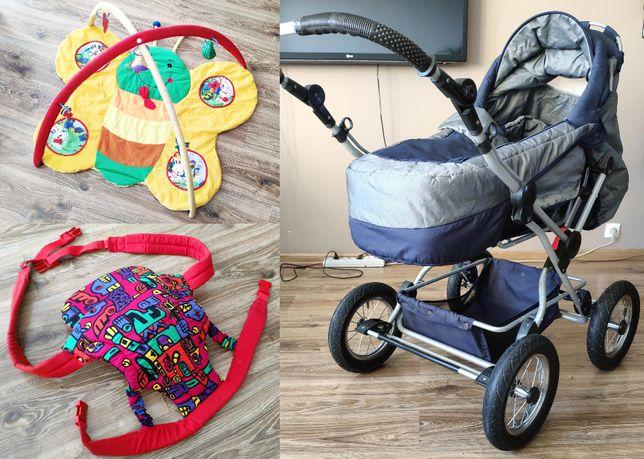 Wózek 3w1 - oraz zabawka mata edukacyjna i nosidełko - GRATIS !!!