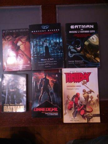 Batman,Spiderman,Hellboy,Daredevil