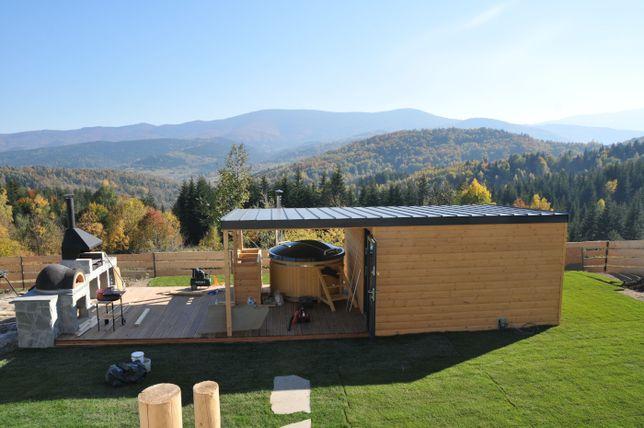 Sauna, sauna ogrodowa, budowa sauny