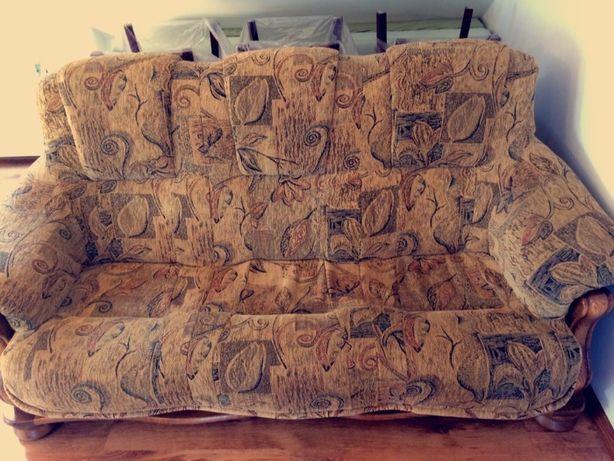 Komplet wypoczynkowy meble 3+2+1 sofa fotel wersalka kanapa
