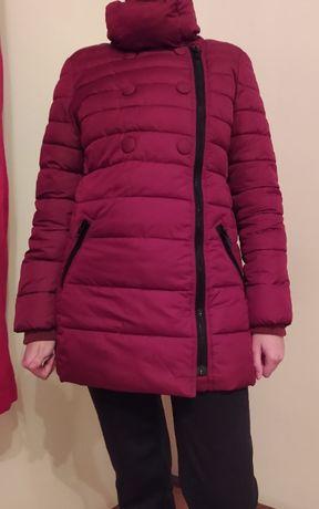 Бордовая куртка OODJI