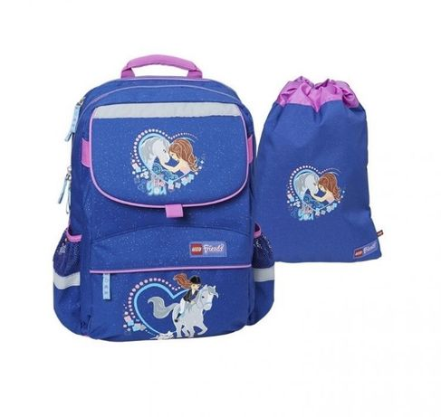 Новый ортопедический школьный ранец, рюкзак Lego Starter Easy набор