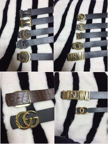 Pasek klamra Moschino OKAZJA Gucci Damski Guess Hermes Louis Vuitton
