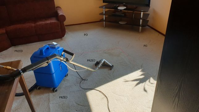 Pranie dywanów, wykładzin mebli i tapicerek samochodowych