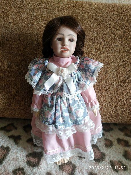 Репродукция антикварной куклы, рост 35см
