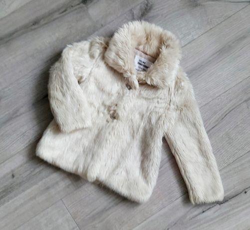 Демісезонна шуба, демі куртка для дівчинки Zara, H&M