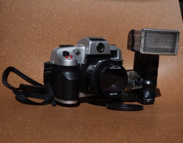 Aparat analogowy canomatica z lampą GRATIS torba na aparat