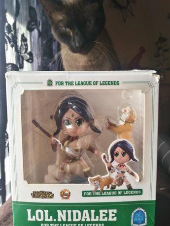 Boneco/ Figura Colecionável Nidalee - League Of Legends.
