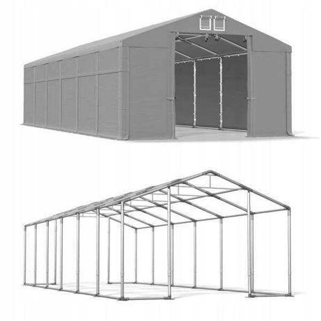 Namiot magazynowy całoroczny Polar 8m x 12m x 4-5,5m