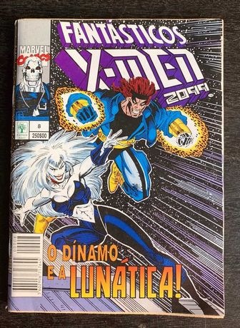 Fantásticos X-Men 2099 (edição n.º 8) - O Dínamo e a Lunática