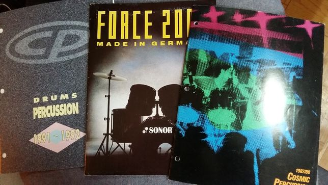 Муз/барабанні каталоги Force 2000, Drums Percussion,Lp, Cosmic Percuss