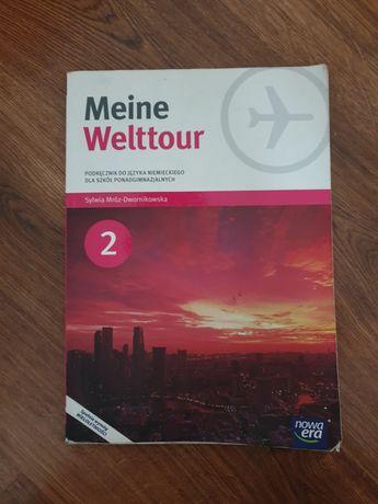 Podręcznik do języka niemieckiego Meine Welttour 2