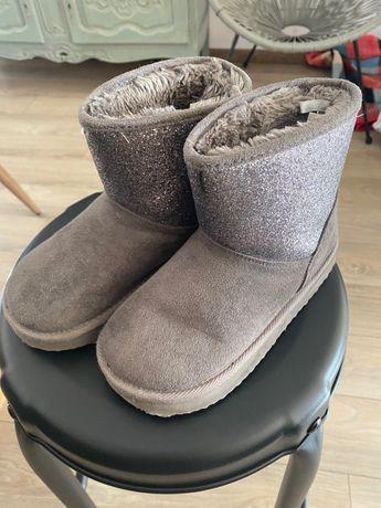 H&M buty ocieplane dla dziewczynki
