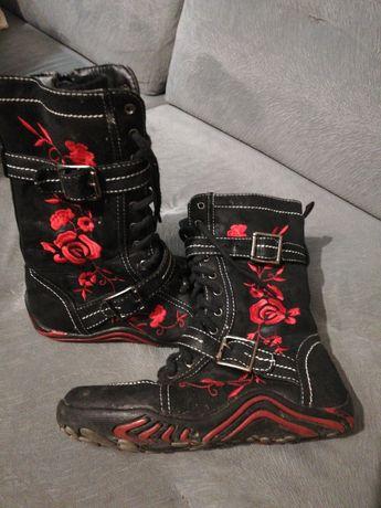 Buty, kozaczki dla dziewczynki