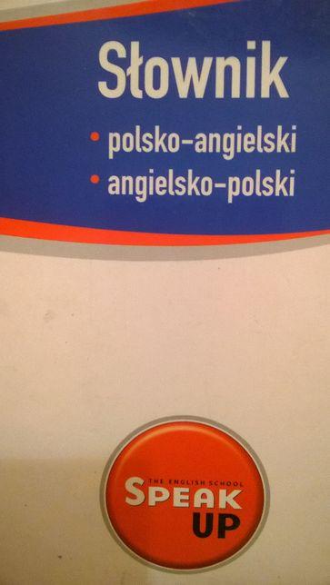 Słownik polsko-angielski angielsko-polski Speak Up