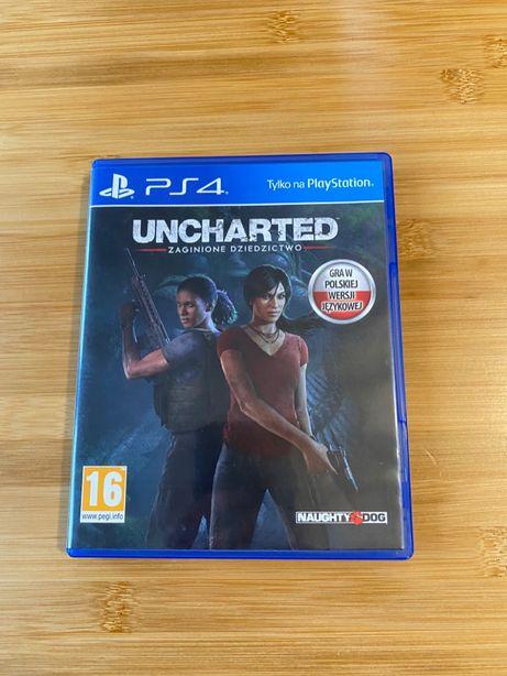 PS4 Uncharted Zaginione Dziedzictwo