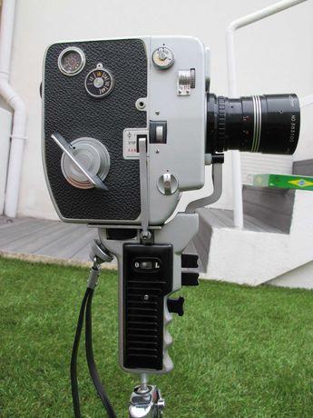 Máquina Filmar Cinemax 85E 8mm Vintage - Cinema Antigo