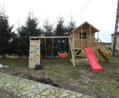 Plac zabaw Oliwia z piaskownicą , ślizg 3 m