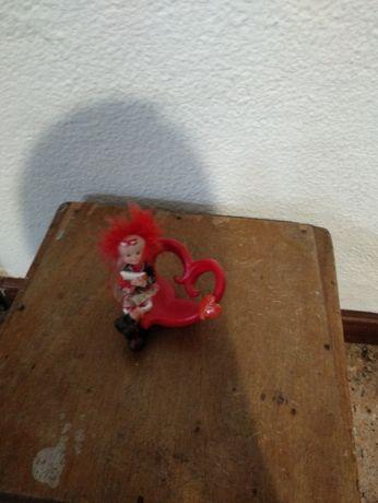 Porta-Telemóvel Vermelho com Boneco