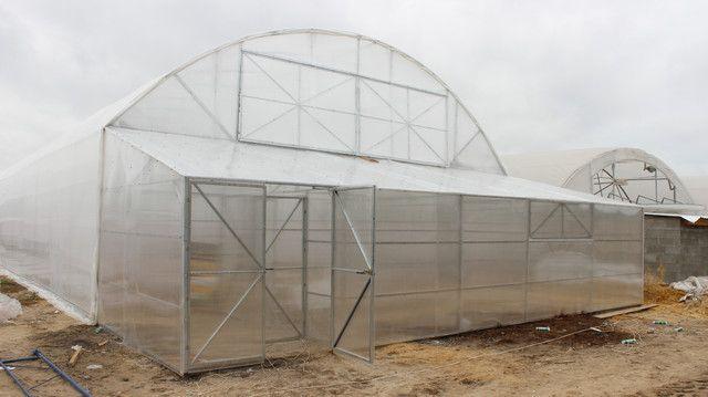 Фермерские теплицы под пленку 10Х50 Фермер ПРОФИ -10.2-У (500 м2)