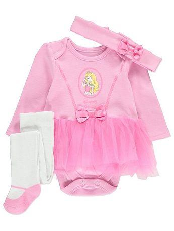 Комплекты Disney Princess George - бодик с юбочкой, колготки и повязка