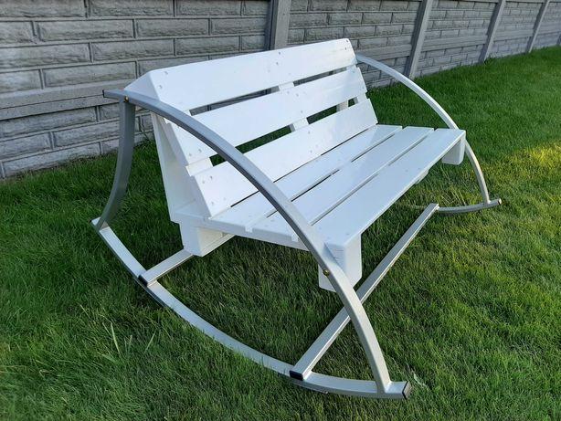 Bujak fotel bujany ławka z profila giętego siedzisko z palet