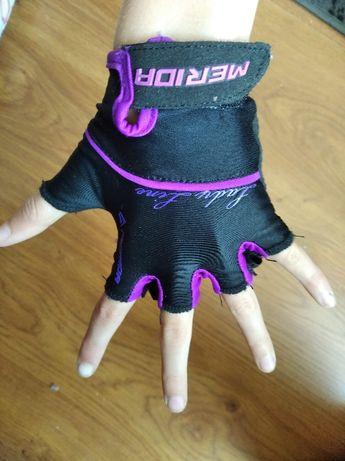 Rękawiczki rowerowe Merida dziecięce