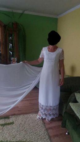 Sprzedam suknię ślubną (rozmiar 38)