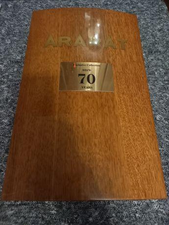 Продам коробку от коньяка АРАРАТ 70 ЛЕТ