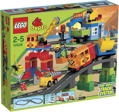Лего Дупло 10508 Железная дорога Lego Duplo залізниця Оригинал Оригіна
