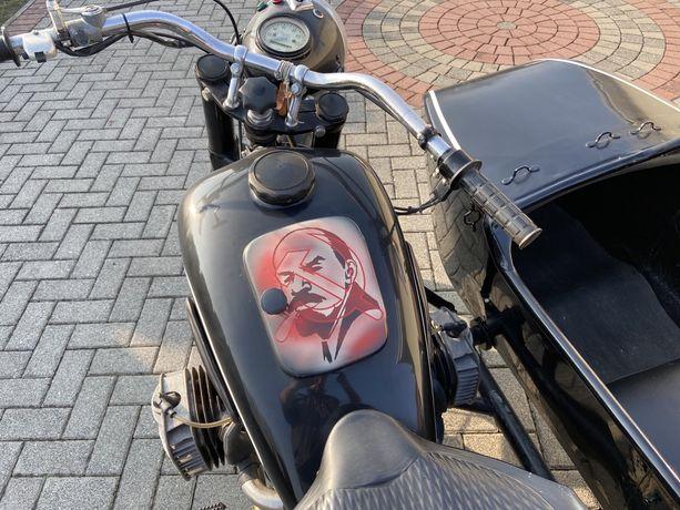 K750 Ural Dniepr Motocykl trzykołowy Igiełka
