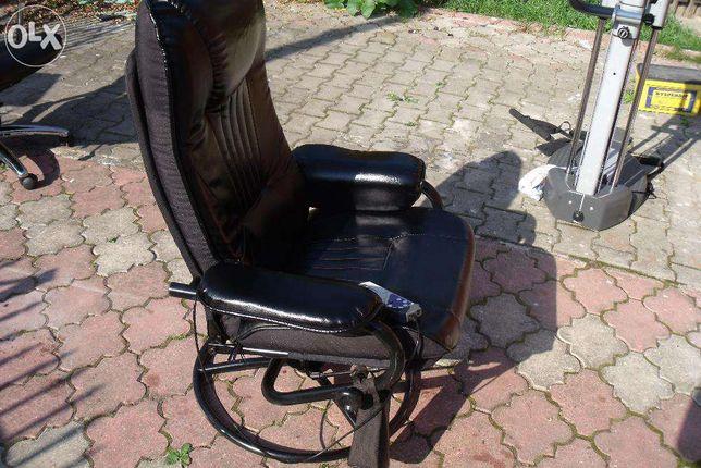 fotel podgrzewany i z masażem
