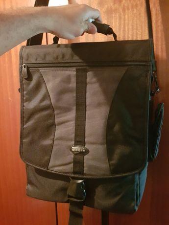 Mala com pega e alça transformável em mochila p computador pc - Dicota