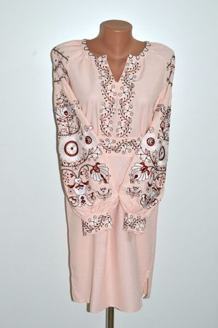 Вишиванка, вышиванка, сукня з вишивкою, вишита сукня розмір 46